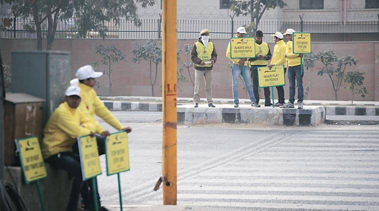 Odd-even phase 1 was held in January. (Express Photo)