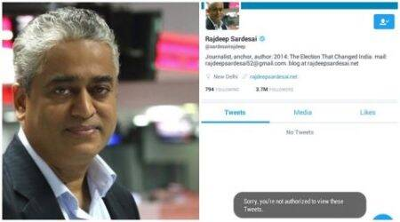 Finally, Twitter trolls got to @sardesairajdeep