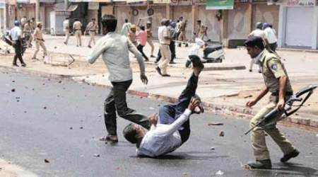 As Patidars clash with police — arrests, curfew, curbs onInternet