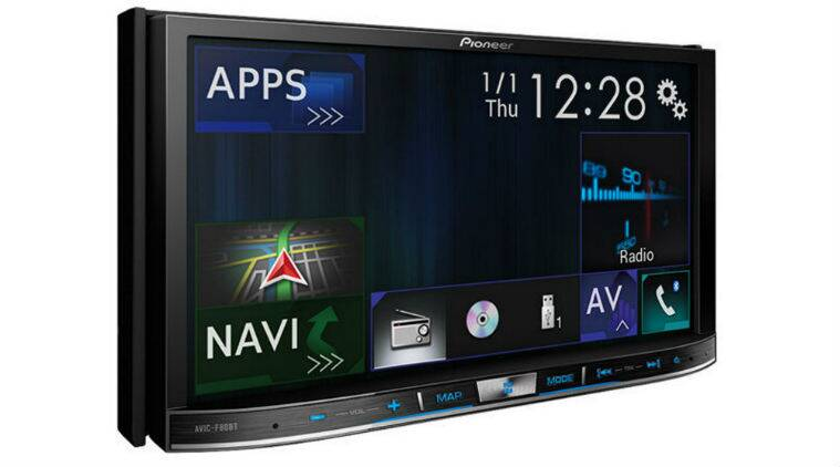 Pioneer, Apple CarPlay, in car entertainment system, in-car navigations device, in car navigation devices, gadgets, technology