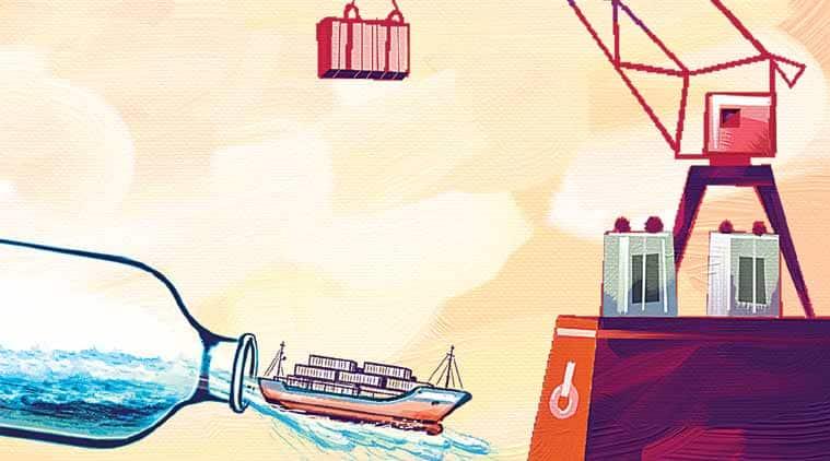 Maritime India Summit, narendra modi, PM modi, indian shipping, indian shipping industry, investment in shipping industry, indian ports, ports in india, port development, National Highways Authority of India, NHAI, Ministry of Railways, indian port development, india news