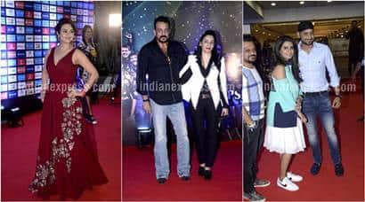 IPL 2016, Preity Zinta, Sanjay Dutt, Sanjay Dutt wife, Manyata Dutt, Geeta Basra, Harbhajan Singh, Geeta Basra Harbhajan Singh, Bhagyashree, Ronit Roy, IPL opening ceremony, IPL opening ceremony pics