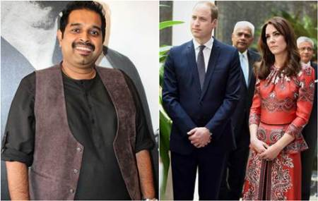 Prince William, Kate Middleton, Prince William Kate Middleton india, the Duke and Duchess of Cambridge, Prince William Kate Middleton news, Shankar Mahadevan, Shankar Mahadevan perfrom, Prince William and Kate Middleton, Shankar Mahadevan news, Shankar Mahadevan songs, entertainment news