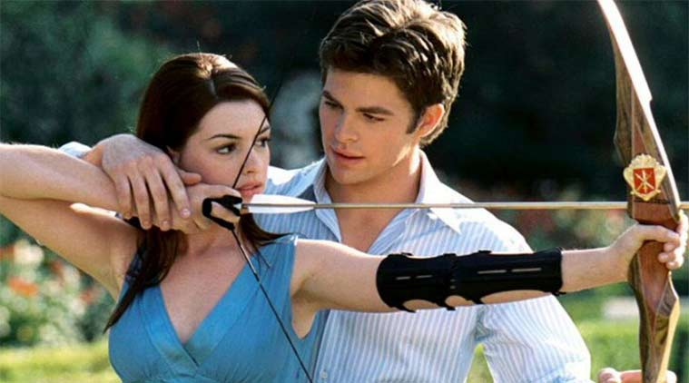 Princess Diaries, Anne Hathaway, Chris Pine