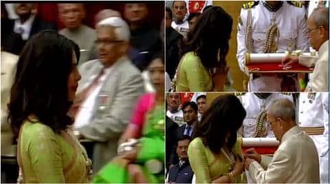 "Priyanka Chopra gets Padma Shri, calls it  ""best award"""