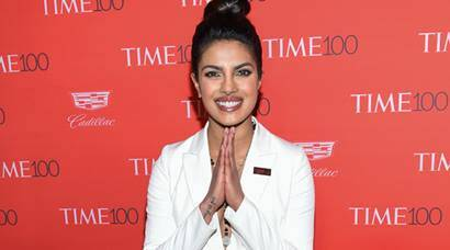Priyanka Chopra is suited up for Time 100 Gala