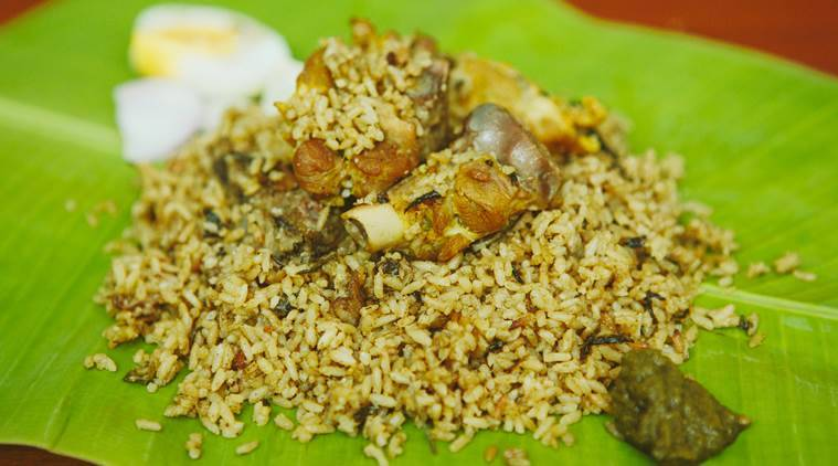 Mamsa Pulav uses sheep meat souced from Bannur.