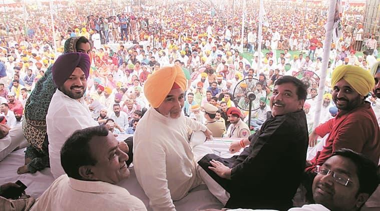 punjab congress, AAP, Arvind Kejriwal, Bhagwant Mann, Sangrur MP Bhagwant Mann, Shiromani Akali Dal, punjab elections , punjab elections 2016, punjab news, indian express news