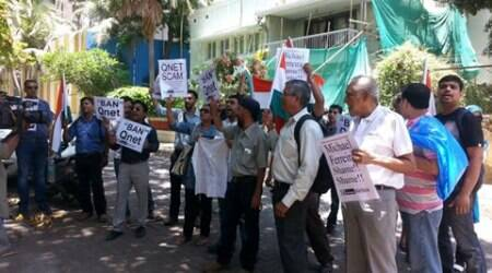 Qnet Scam: Mumbai residents protest outside Michael Ferreira's house