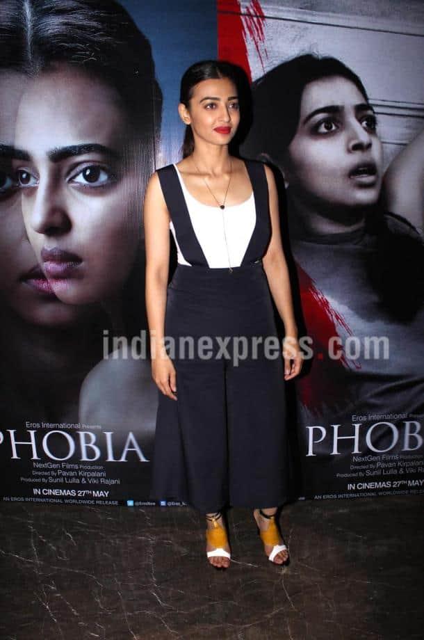 Radhika Apte, Phobia, Radhika Apte FILM, Phobia trailer launch, Phobia radhika, Radhika Apte upcoming film, entertainment news