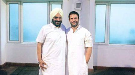 Ahead of elections, Punjab Congress leader Tejinder Bittu meets Rahul Gandhi