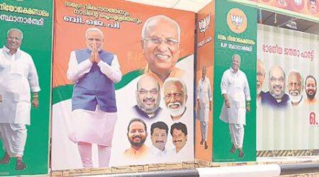 Still to open account in Kerala, a familiar face gives BJP an unfamiliar edge this time
