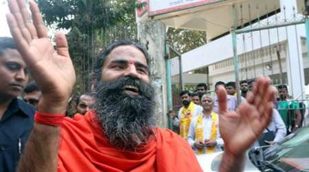 Ramdev booked for 'Bharat Mata ki Jai' slogan remark