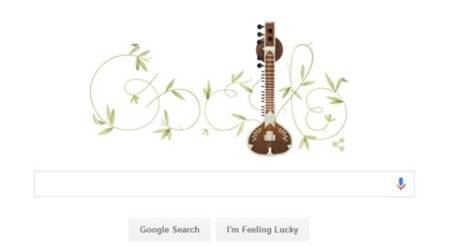 Google doodle marks 96th birthday of legendary musician Pandit Ravi Shankar