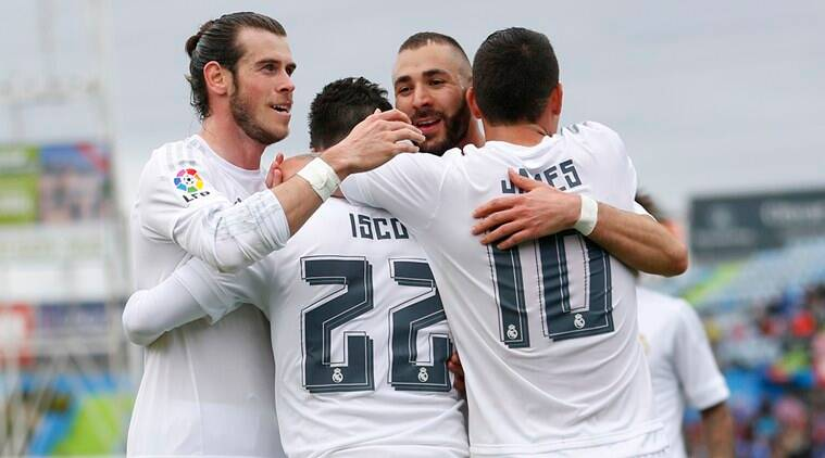 Real Madrid, Real Madrid vs Getafe, Getafe vs Real Madrid, Real, Karim Benzema, Isco, Gareth Bale, James Rodriguez, Cristiano Ronaldo, Ronaldo, Benzema, Bale, Football
