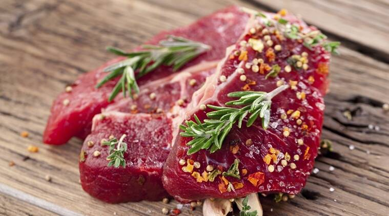 diet, red meat, fruits and vegetables, aging, health
