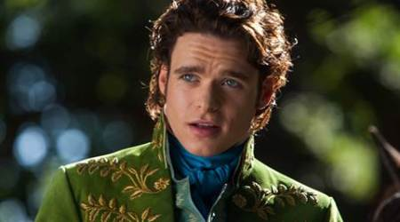 Richard Madden struggled with 'Cinderella' costumes