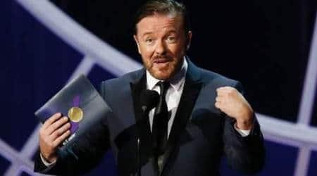 Ricky Gervais, Ricky Gervais comedian, Ben Bailey Smith, Ricky Gervais The office, Ricky Gervais golden globes