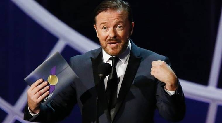 Oscars awards, Ricky Gervais, Ricky Gervais movies, Ricky Gervais upcoming movies, Ricky Gervais shows, Ricky Gervais upcoming shows, Ricky Gervais news,Oscars awards news, Entertainment news