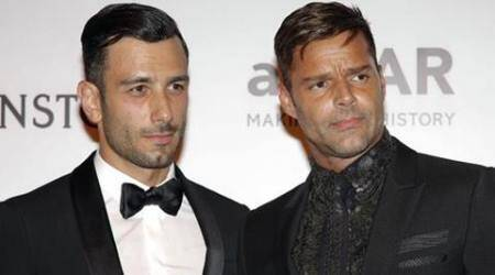 Ricky Martin, new boyfriend Jwan Yosef make red carpet debut