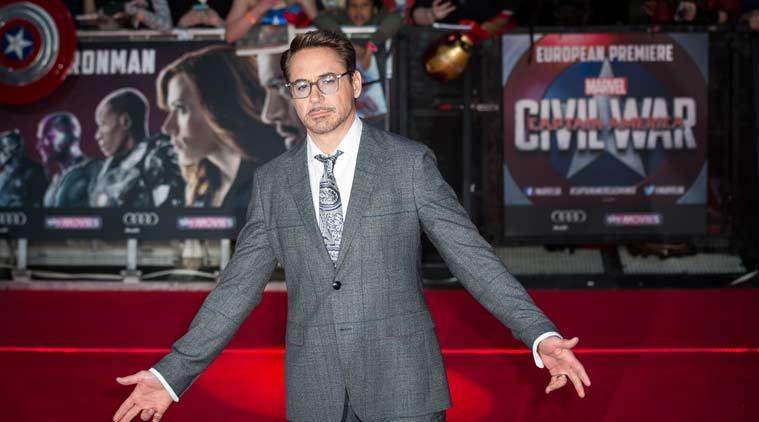 Robert Downey Jr delights brave boys at Captain America: Civil War premiere
