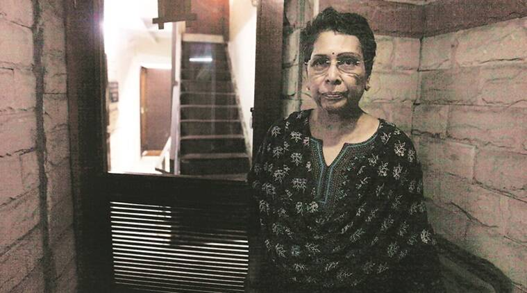 Rohini Salian was a leading Indian public prosecutor in the sessions court at his Fort office, Mumbai. EXPRESS PHOTO BY VASANT PRABHU