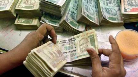Rupee down 5 paise vs dollar in early trade