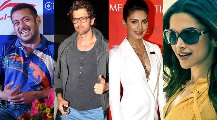 Salman Khan Hrithik Roshan Priyanka Chopra Deepika Padukone To