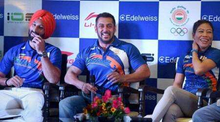 Sports farternity divided, IOA firm on Salman Khan as goodwill ambassador for Rio