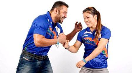 Mary Kom brings winning attitude to all her work, says Salman Khan