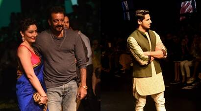 Sanjay Dutt, Manyata dutt, Sidharth Malhotra, Lakme Fashion Week, Sooraj Pancholi, Manish Arora, Kunal Rawal, Lakme Fashion Week news, Lakme Fashion Week sanjay dutt, Lakme Fashion Week photos