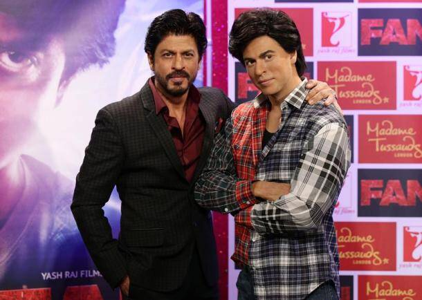 Shah Rukh Khan, Shah RUkh Khan Fan, Fan, Shah RUkh Khan Waz Statue, Shah RUkh Khan Madame Tussauds, Shah RUkh Khan Wax Figure, Fan The Film, SRk, SRk FAn, SRK Fan Movie, SRk Wax Statue, SRk Fan Wax Statue, SRK fan Madame Tussauds, Fan Madame Tussauds, Fan in London, Shah Rukh KHan pics, Shah Rukh Khan Photos, SRk pics, SRk photos