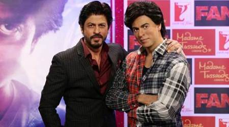 Shah Rukh Khan unveils Fan inspired wax figure at Madame Tussauds