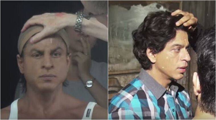 Shah Rukh Khans Transformation To Yearsold Gaurav In Fan - 25 brilliantly recreated old photographs prove relationships can last