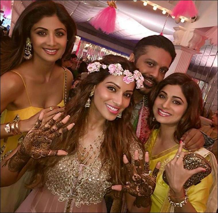 Bipasha Basu and Karan Singh Grover's mehendi ceremony, see latest pics