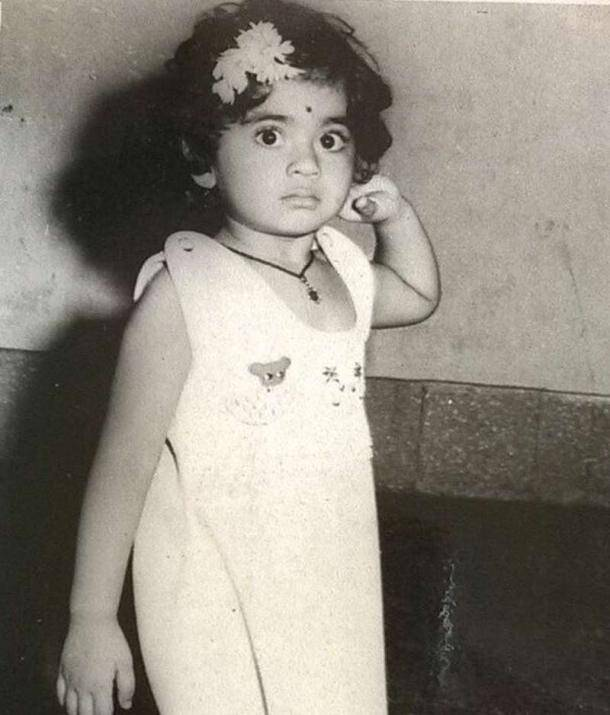 Shamita Shetty, Shamita Shetty Childhood pics, celebrity childhood photo