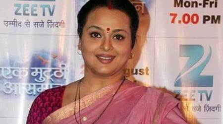 Shilpa Shirodkar celebrates Gudi Padwa on 'Silsila Pyaar Ka' set