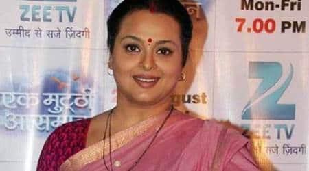 Shilpa Shirodkar celebrates Gudi Padwa on 'Silsila Pyaar Ka'set