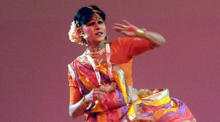 Renowned Kathak dancer Padamshree Shovana Narayan performing at the 5th anniversary of Nanhi Chhann in New Delhi on August 27, 2013. (Photo: IANS)