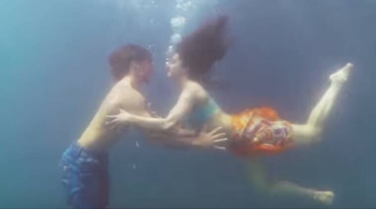 Shraddha, Tiger, Baaghi, Shraddha Tiger, Shraddha Tiger baaghi, Shraddha Kapoor, Tiger Shroff, Shraddha tiger underwater, Shraddha Tiger Sexy, Shraddha tiger beach, Shraddha Tiger in water, Shraddha Tiger underwater scene, Entertainment news