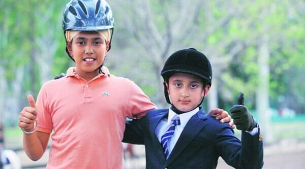 Delhi Horse Show Three School Students Excel In Sports