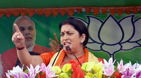 smriti irani, hrd minister smriti irani, smriti iran du, smriti irani education, smriti irani educational qualification, smriti irani minister, india news, latest news
