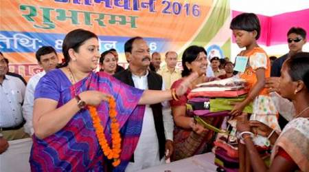 smriti irani, irani teachers promotion, hrd ministry, hrd ministry teachers promotion, students performance teacher promotion, education news, india news, hrd ministry news, latest news