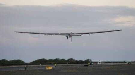 Solar plane begins second half of journey across the globe