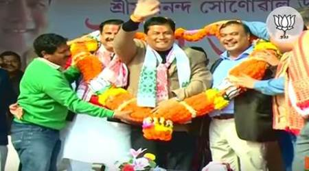 BJP's campaign video in Assam sings paeans to one man — Sarbananda Sonowal