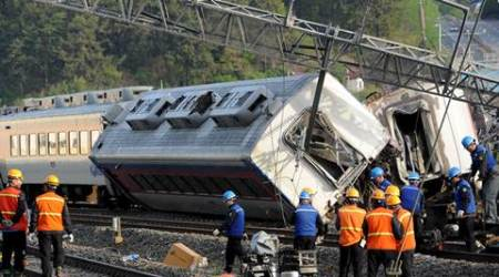 South Korea train accident, trail derail in Korea, Korail derailment, world news