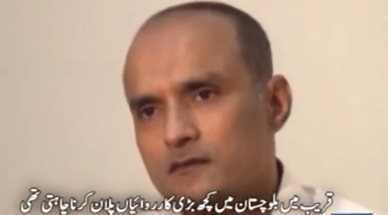 Kulbhushan Jadhav, Kulbhushan jadhav Pakistan, Kulbhushan jadhav death sentence, Kulbhushan jadhav news, India Jadhav, India Pakistan, Kulbhushan Jadhav death row, Kulbhushan Jadhav case, India news, Indian Express