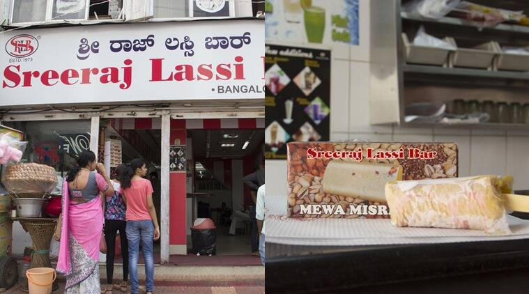 Try the kesar badam and mewa misri kulfi at Sreeraj Lassi Bar. (Photo: Saina Jayapal)
