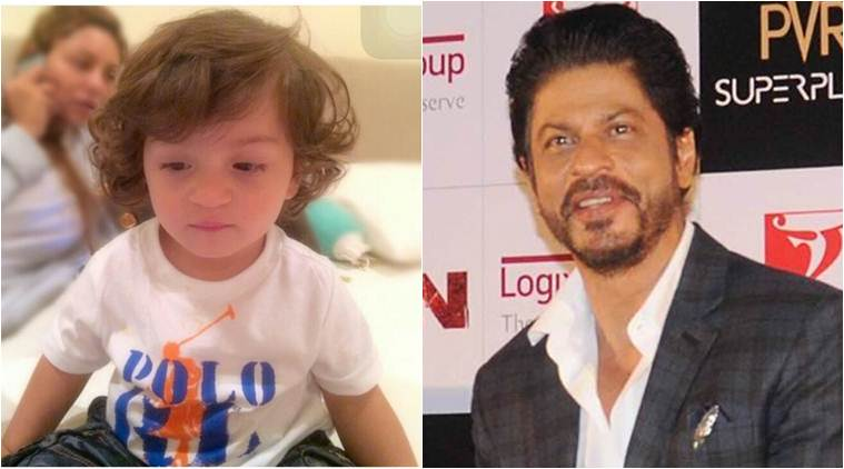 Shah Rukh Khan feels his youngest child AbRam is more inclined towards his father.