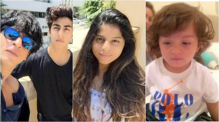Shah Rukh Khan, srk, Shah Rukh Khan KIDS, Aryan, Suhana, AbRam, Shah Rukh Khan son, Shah Rukh Khan daughter, entertainment news